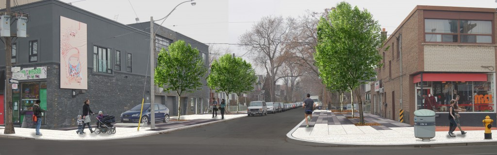 Leslie-Queen Streetscape Enhancements