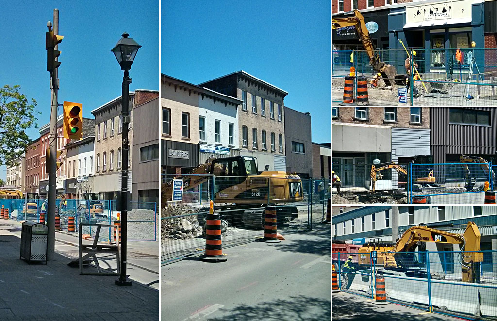 Phase 1 Construction Begins on Belleville's City Centre Revitalization