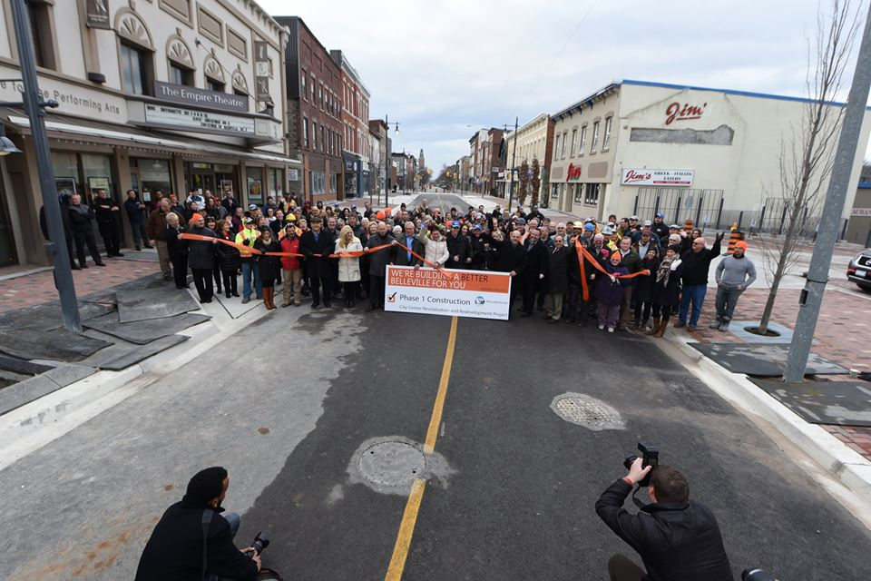 Phase 1 of Belleville's Downtown Revitalization Completed